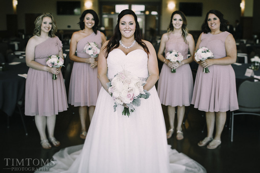 bridesmaids wedding party kansas city