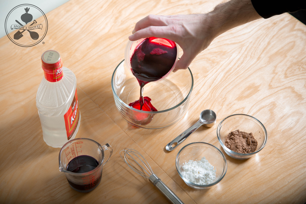 Edible fake blood from the Spoon + Shovel