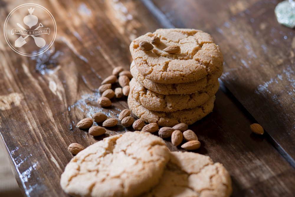 Spiced almond butter cookies from The Spoon + Shovel
