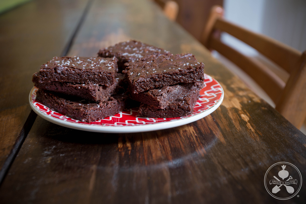 "Spicy vegan ""Mayan"" brownies from The Spoon + Shovel"