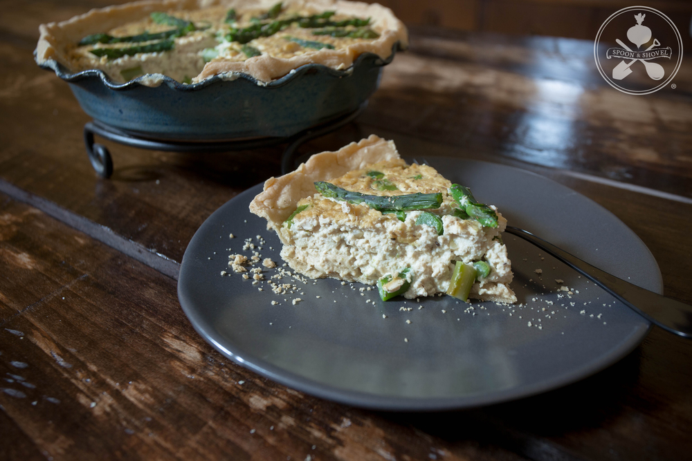 Catch-all vegan quiche from The Spoon + Shovel