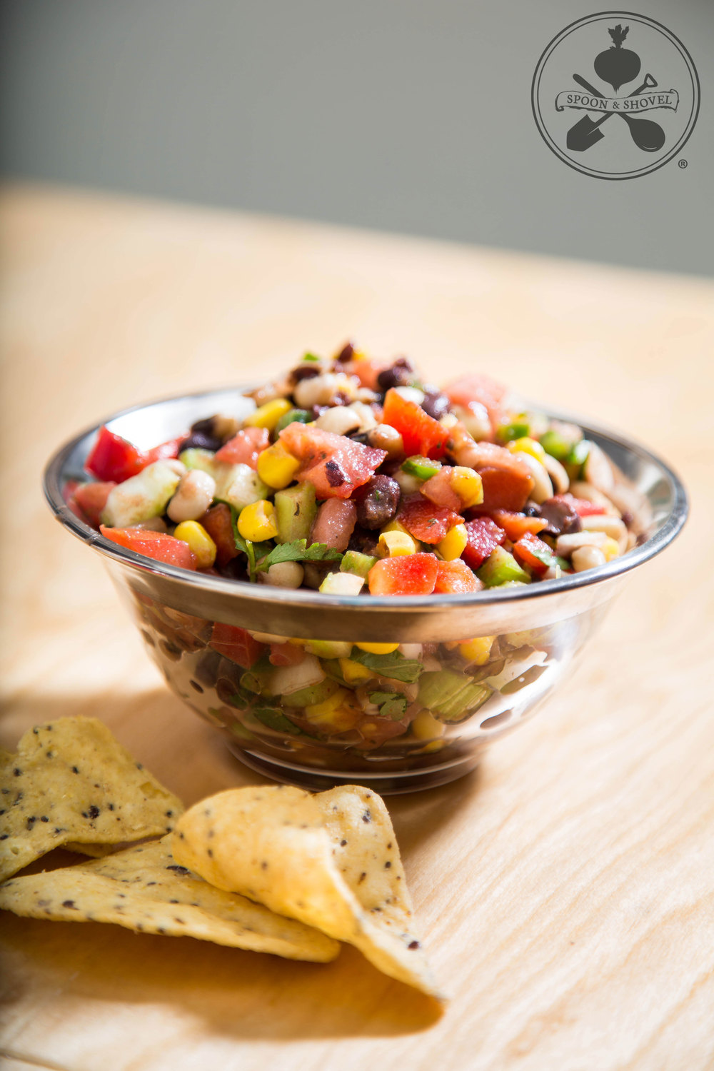 Savory cowboy caviar from The Spoon + Shovel