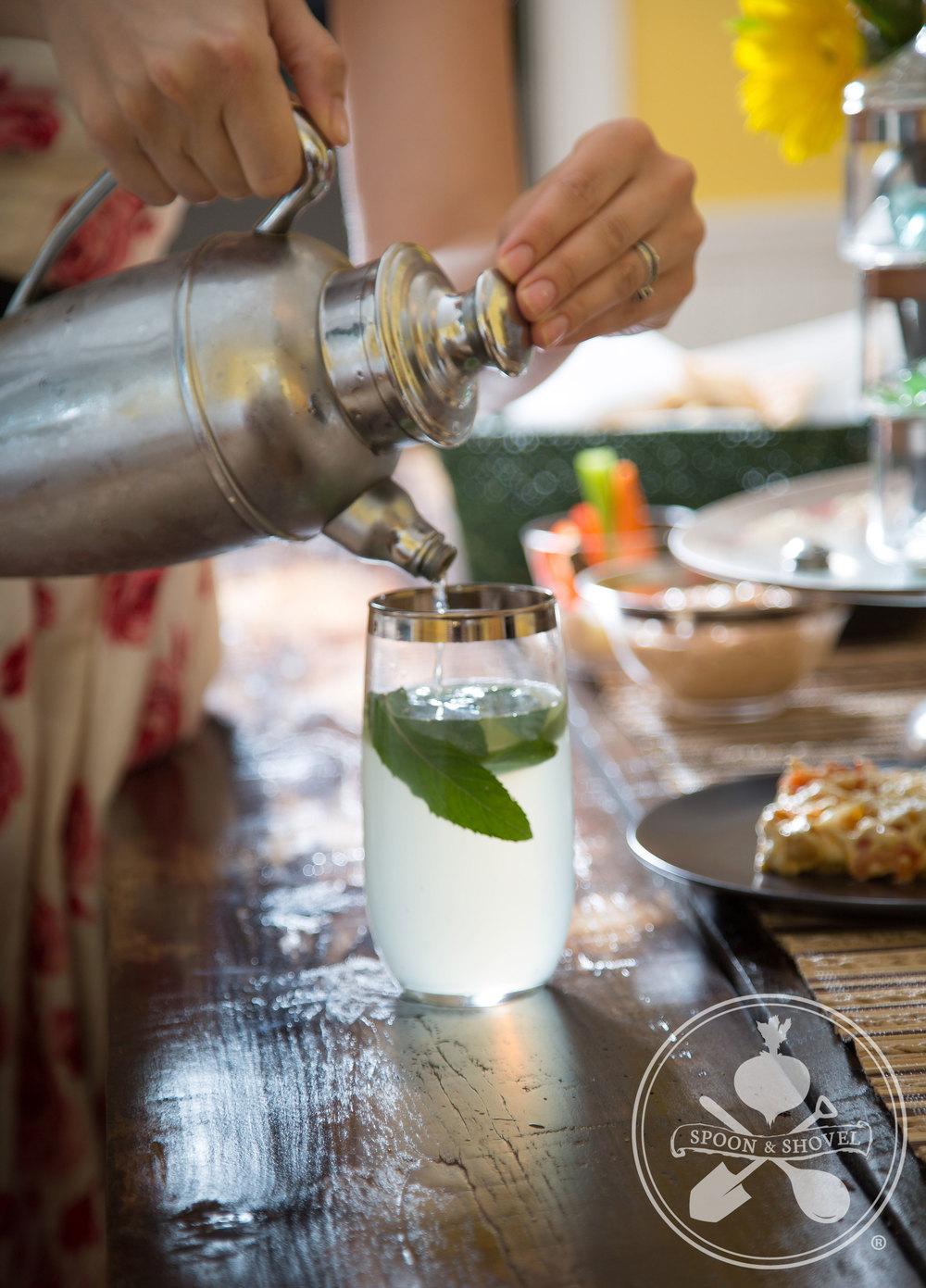 Gin fizz!
