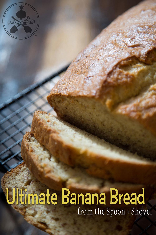 Ultimate vegan banana bread from The Spoon + Shovel