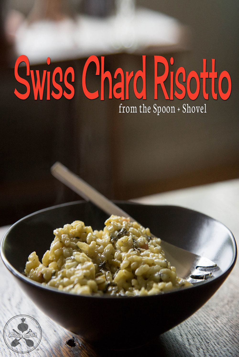 Simple Vegan Swiss Chard Risotto from The Spoon + Shovel