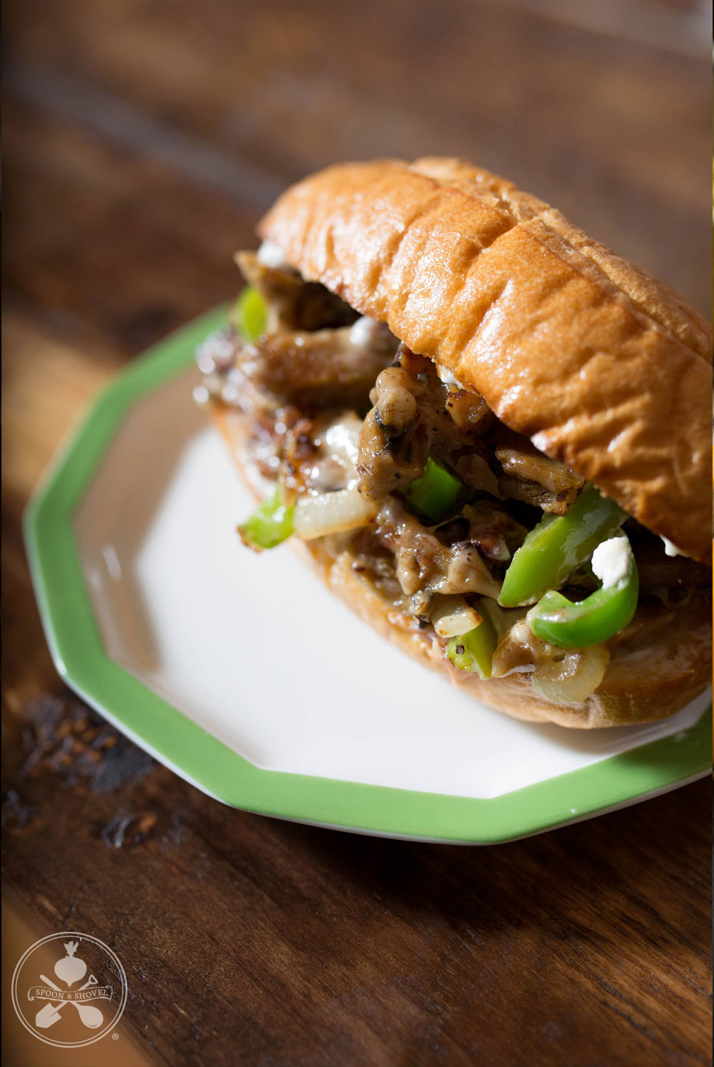 Vegan Philly Cheesesteak from The Spoon + Shovel