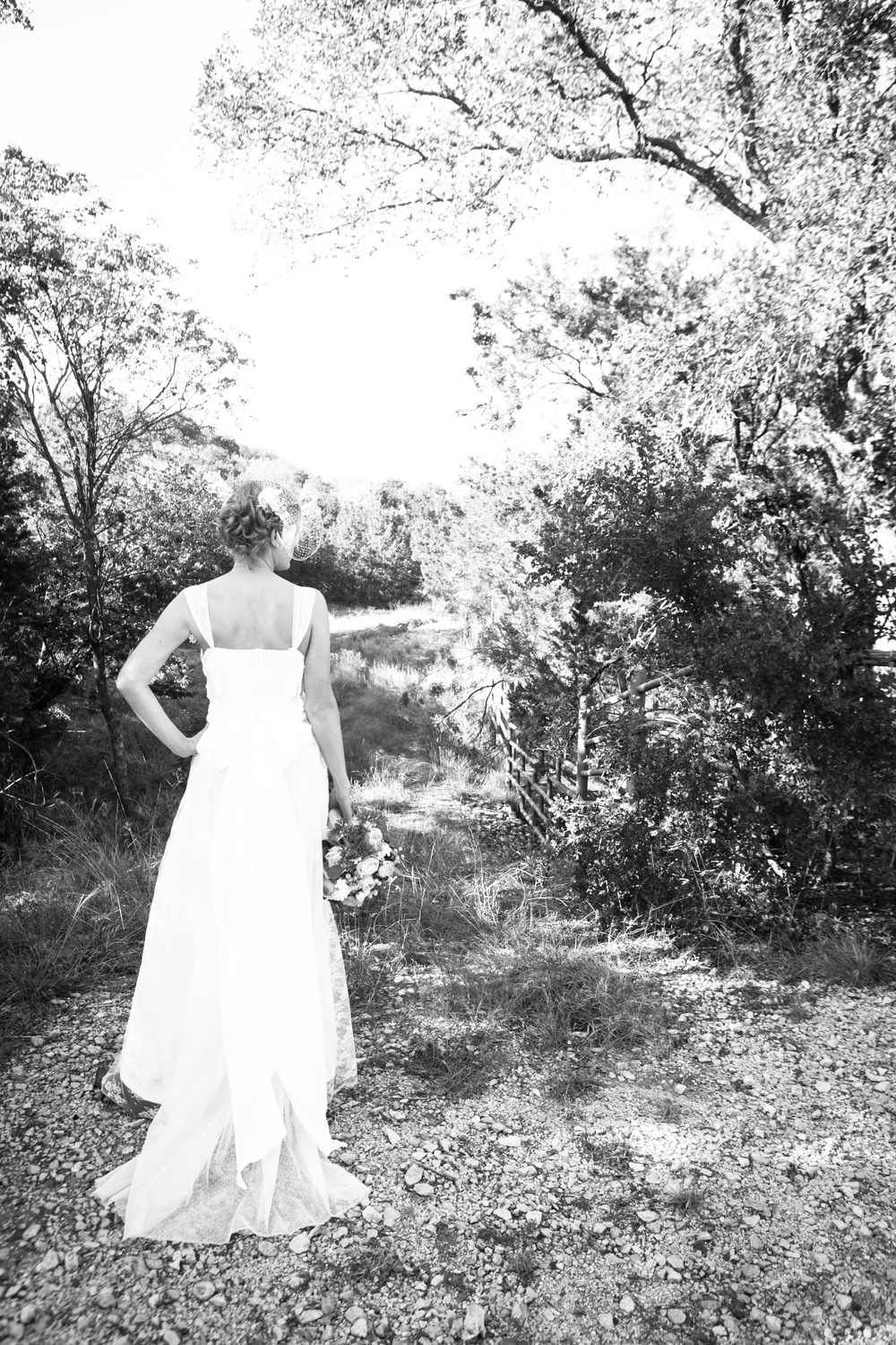 Bride on the Trail