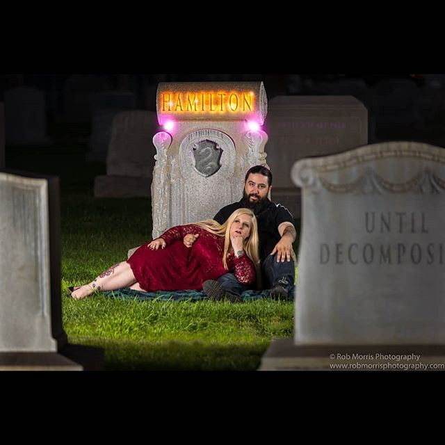 So we recently got to do a very unique engagement shoot... We did the shoot in a cemetery! Yep! The couple has less than typical preferences, they aren't weirdos or freaks - at least not in a bad way. They are absolutely interesting and fun people and were up for doing something little did, something a bit more in line with their personalities. We always try to fit the shoot to the couples personality, and this was a LOT of fun! If YOU need a wedding photographer, and want a photographer who will work to get you what YOU want, please contact us - our prices start at $1200, and ALL of our packages come with TWO photographers! Find out more at www.robmorrisphotography.com! . . . . . . #weddingphotographer #wedding #engaged #shesaidyes #isaidyes #weddingwire #theknot #photographer #tyingtheknot #bride #bridetobe #gettinghitched #bride #married #inlandempire #temecula #murieta #menifee #sandiego #riverside #corona #redlands #anaheim #chinohills #gettingmarried #couple #couplegoals