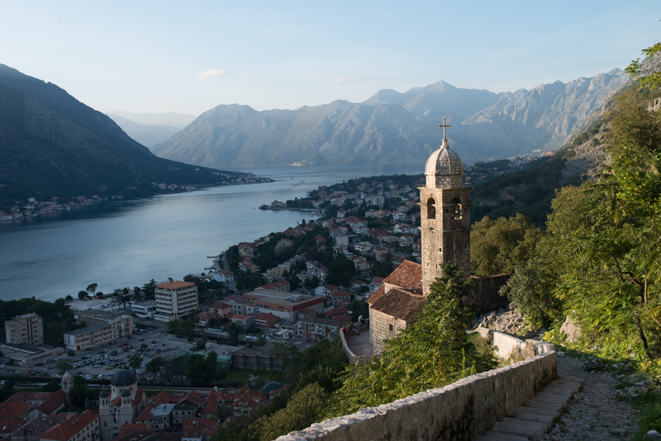 Chapel, half way up the path to the fortress overlooking Kotor.