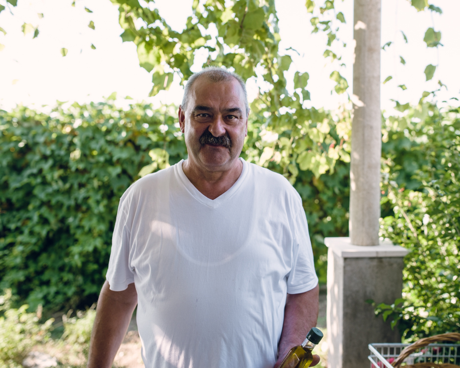 The man behind the incredible olive oil.