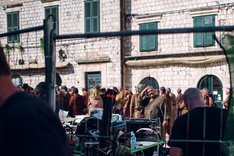 Did I mention we stumbled across the filming of next season's Game of Thrones? I got quickly (and firmly) stopped by security after shooting this one.