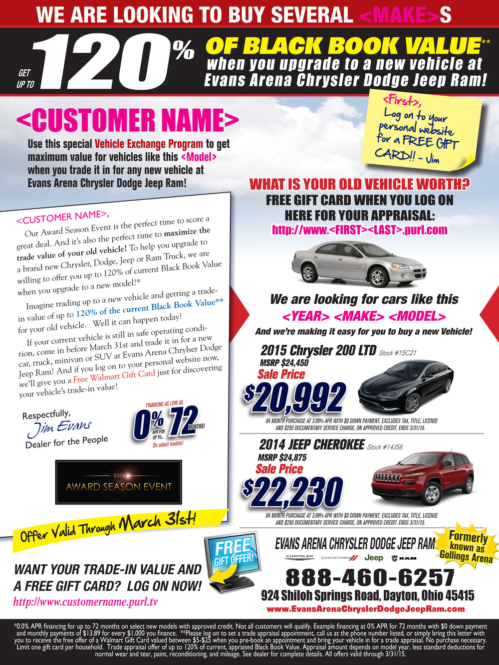 automotive mailer