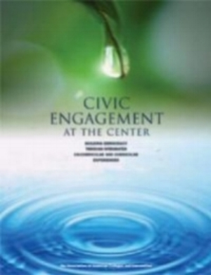 Informed by the work of the Bonner Foundation,Civic Engagement at the Center highlights developmental models for students' civic learning and socially responsible leadership implemented at 77 campuses. The monograph describes key elements of the cocurricular model, research on its impact on students, and emerging civic engagement minors created to complement decades of work in student affairs.