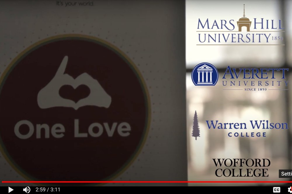 Click image to launch video documenting 2018 Sophomore Exchange hosted by Wofford College's Bonner Scholars.