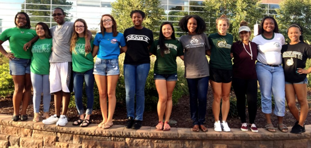 Founding class of Bonner Leaders at the University of North Carolina - Charlotte.
