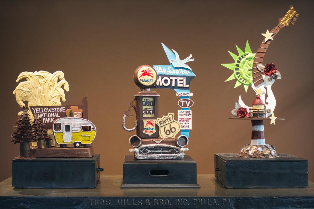 2017 Art Hop Vintage Road Trip Exhibit