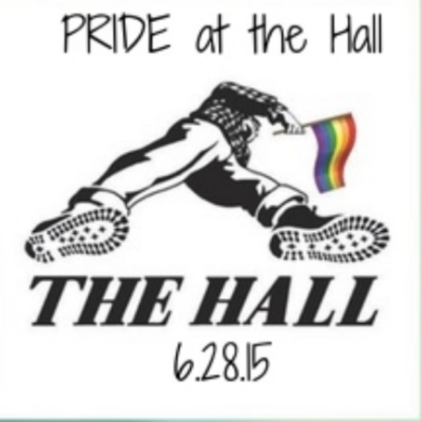 The Hall proudly supports Pride, and we hosted a Pride party for parade-goers.
