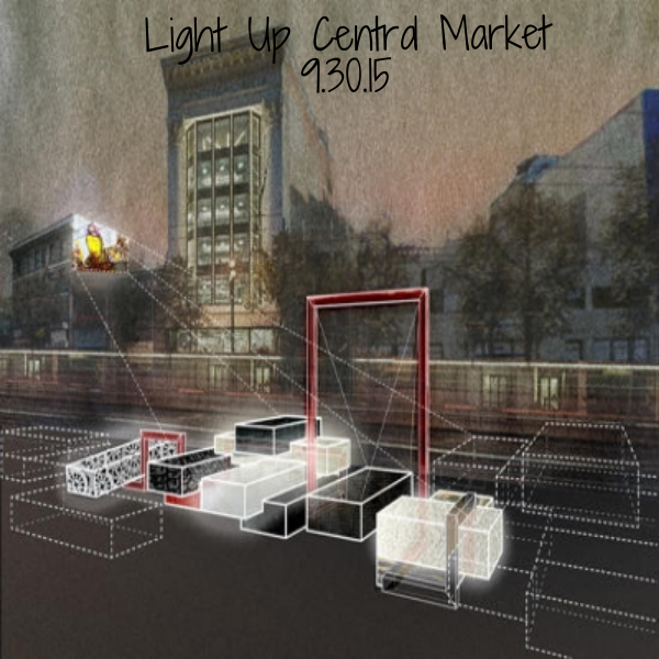 Light Up Central Market is the city's 2nd Living Innovation Zone, brought to you by the Kenneth Rainin Foundation, SF Planning, and the Luggage Store Gallery. Come explore this new art installation, and see how interactive art changes the block!