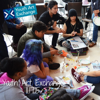 Youth Art Exchange sparks a shared creative practice between professional artists and public high school students, furthering youth as leaders, thinkers, and artists in San Francisco. To accomplish this, Youth Art Exchange offers citywide arts, high quality education programming, field trips, events, and more.