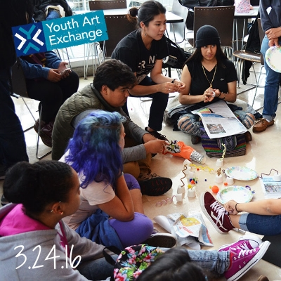 Youth Art Exchange is back for another fundraiser and fun night of creativity. Join the youth in exploring art, and drink for a good cause!