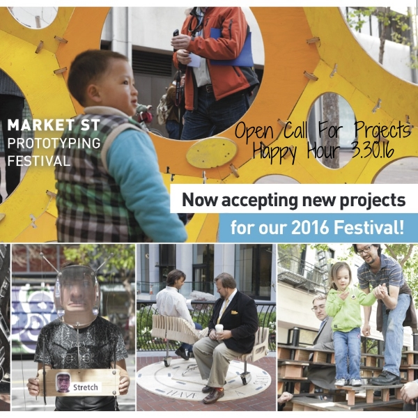 We're so excited that the Market Street Prototyping Festival is BACK! We'll be hosting them for a happy hour and open call for projects. If you're interested in applying, come check this out!