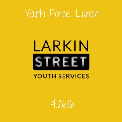 Larkin Street Youth Force is a program that employs homeless or formerly homeless youth to clean the neighborhood. These youth work incredibly hard at an often thankless task. We were happy to host them for lunch to thank them for their hard work.