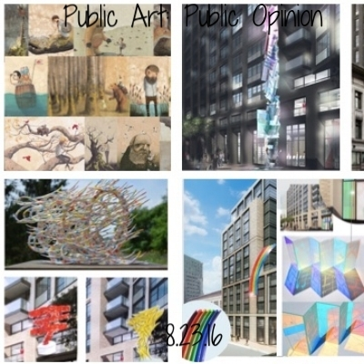 The developers of the Hall are commissioning new public art for the future of 1028 Market Street, and want your opinion! Come to the Hall on the 23rd for a preview of the pieces and to make your opinion heard.