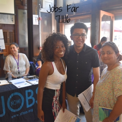 Hall hosted jobs fair in partnership with SFPD (Tenderloin Station) and OEWD. Over 150 people attended seeking jobs.