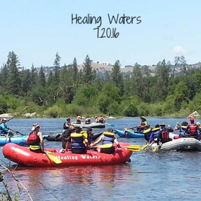 The Hall hosted a fundraiser happy hour for Healing Waters, a local nonprofit that provides outdoor adventure to people living with HIV and AIDS.