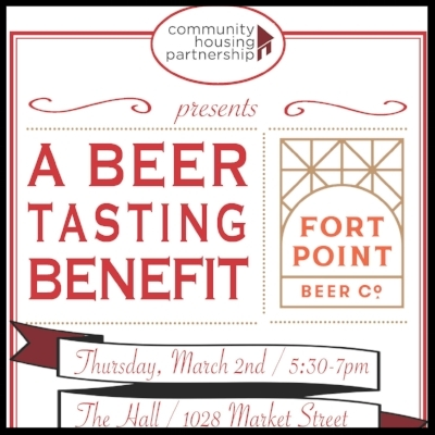 Community Housing Partnership held their 3rd annual beer tasting benefit to support the great work they do.