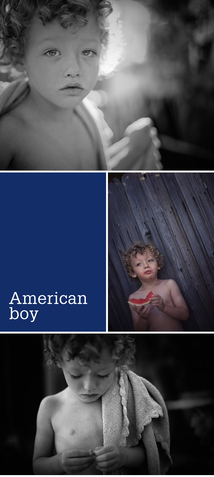 portraits of an American boy - kids' candid photography by Gillian Crane, Orange County photographer