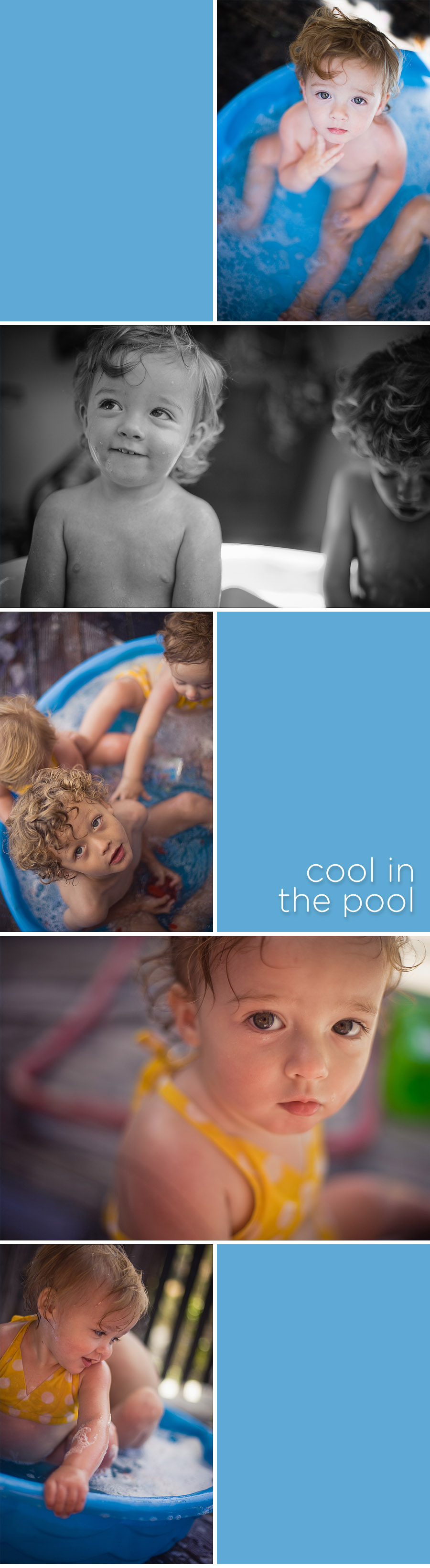 Cool in the Pool - summertime candids by Gillian Crane, Laguna Beach photographer