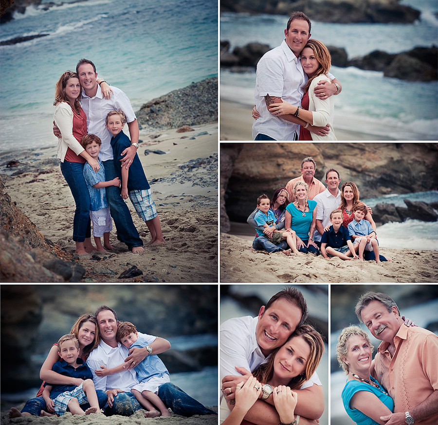 photos by Gillian Crane, Orange County group, family, and couples portrait photographer
