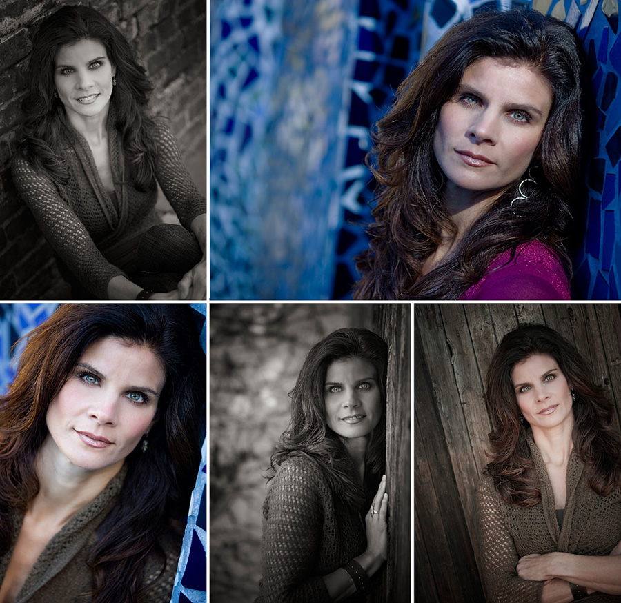 photos from a recent headshot portrait session in Orange County, CA