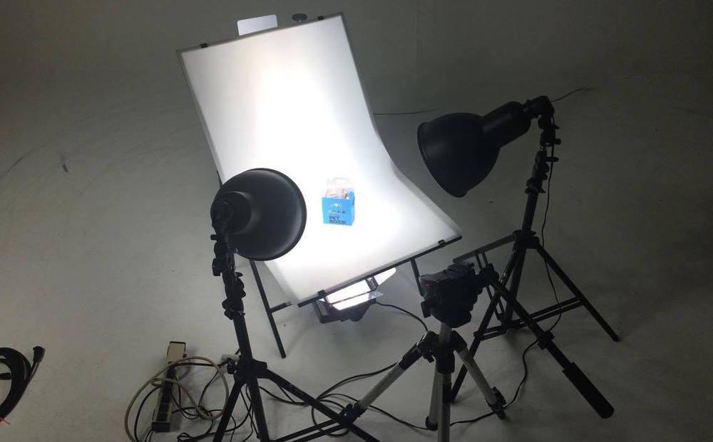 Product video studio set, Orlando