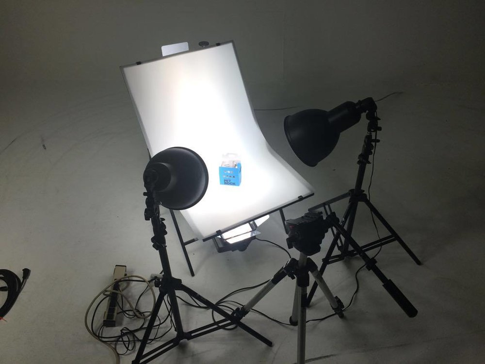 Product video studio set, Orlando