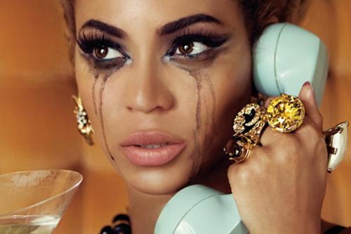 Beyonce Crying