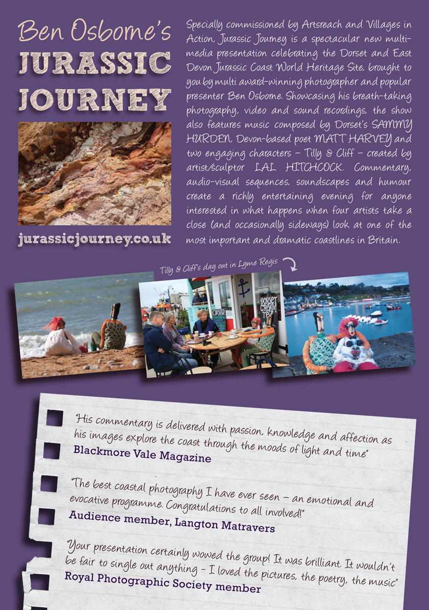 Jurassic Journey flyer back