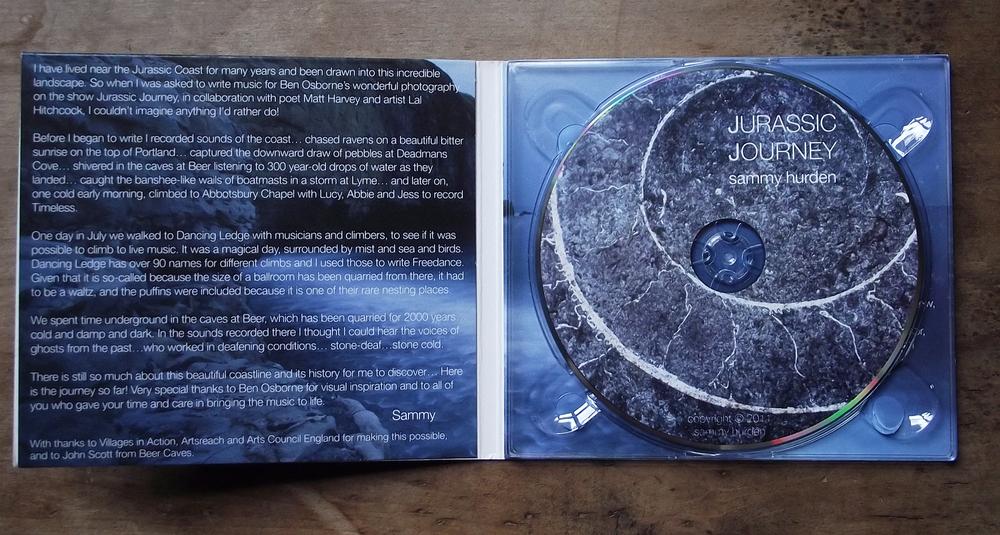 Jurassic Journey CD (inner)