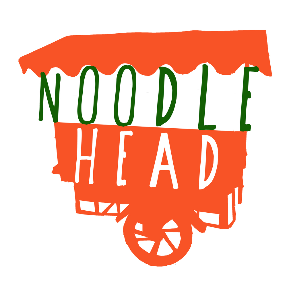 Client:  Noodlehead   Brief: to create a logo and branding for a new Thai street food vendor in Dorset