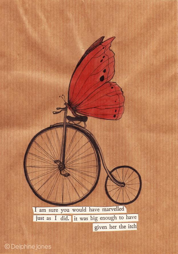 AButterfly on a Bike