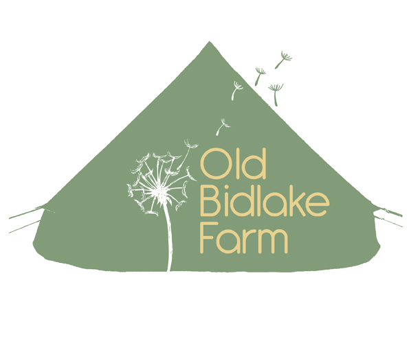 Client:  Old Bidlake Farm   Brief: To create an updated logo for a bell tent campsite