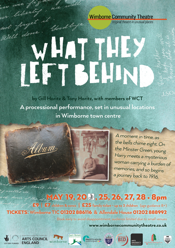 What The Left Behind flyer