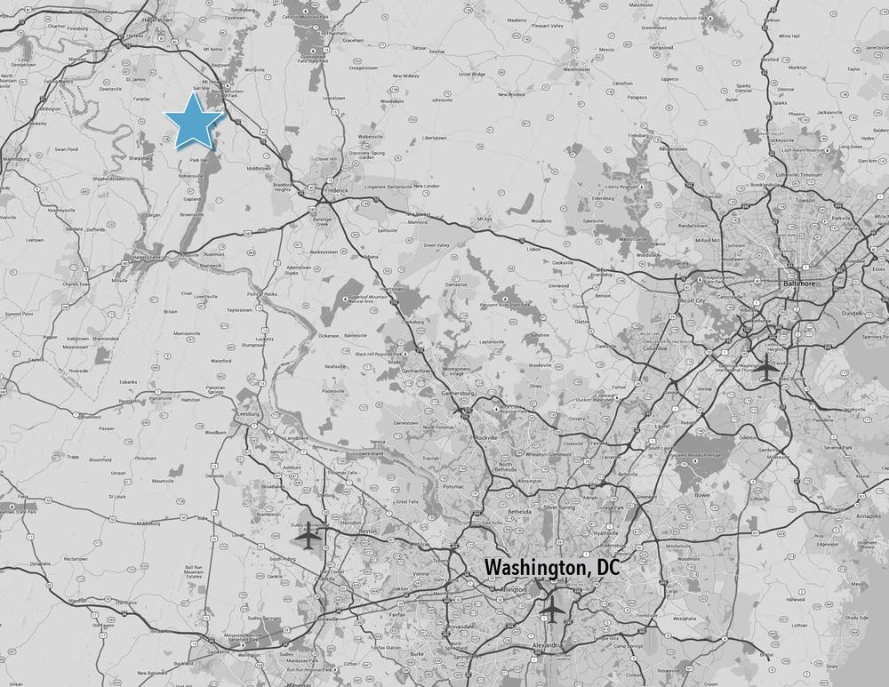 King Road WV MD DC Metro Map.png