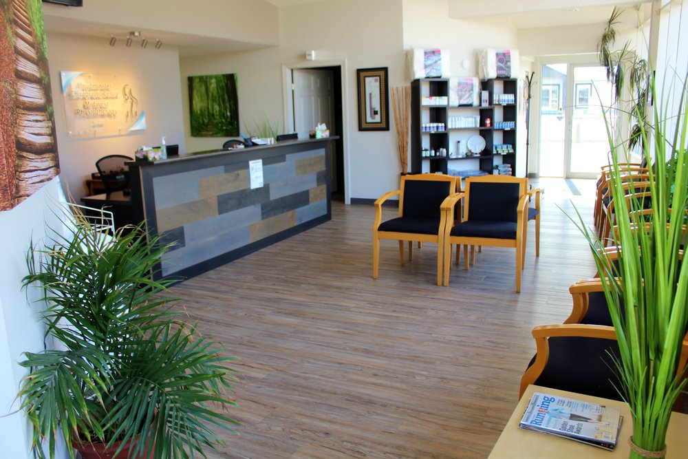 Lloydminster Chiropractic Centre Waiting Room