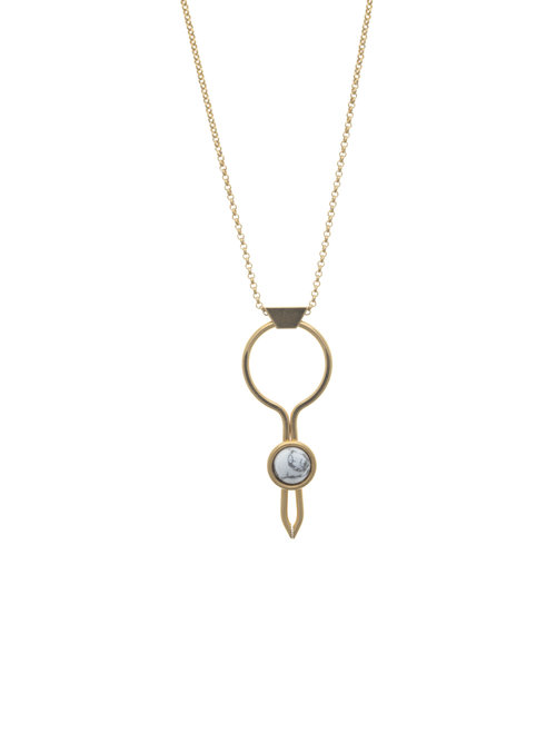 circle jewellery gold bonas oliver interlinked necklace toyan