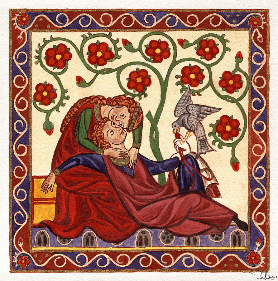 Herr Konrad von Altstetten, Große Heidelberger Liederhandschrift, UL Heidelberg, c. 1300-1340