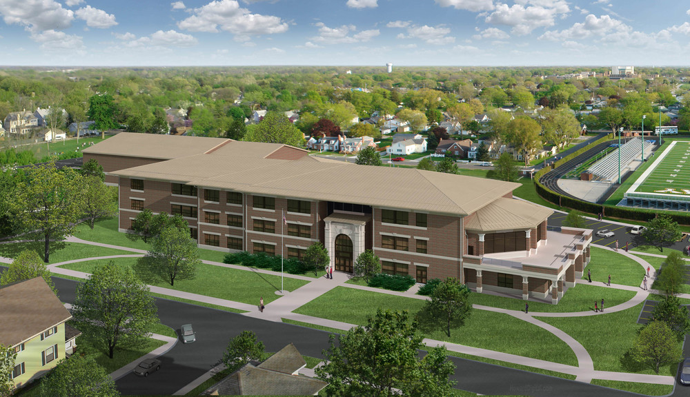 www.rcmarchitects.com - vision - donnell middle school rendering