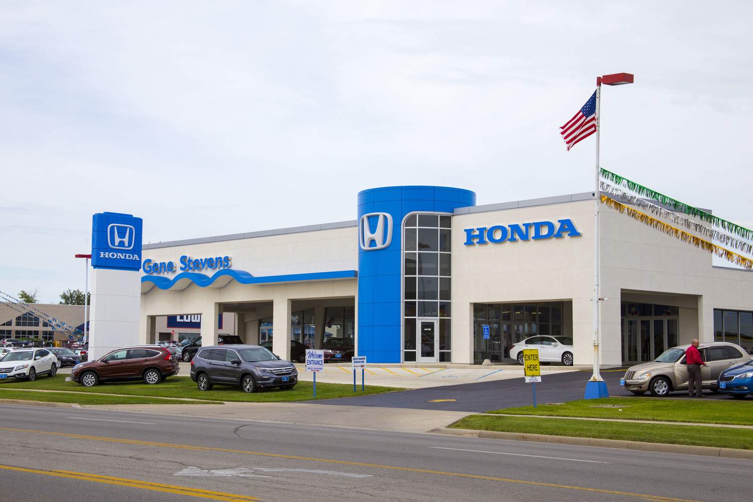 RCM Architects-Gene Stevens Honda Dealership
