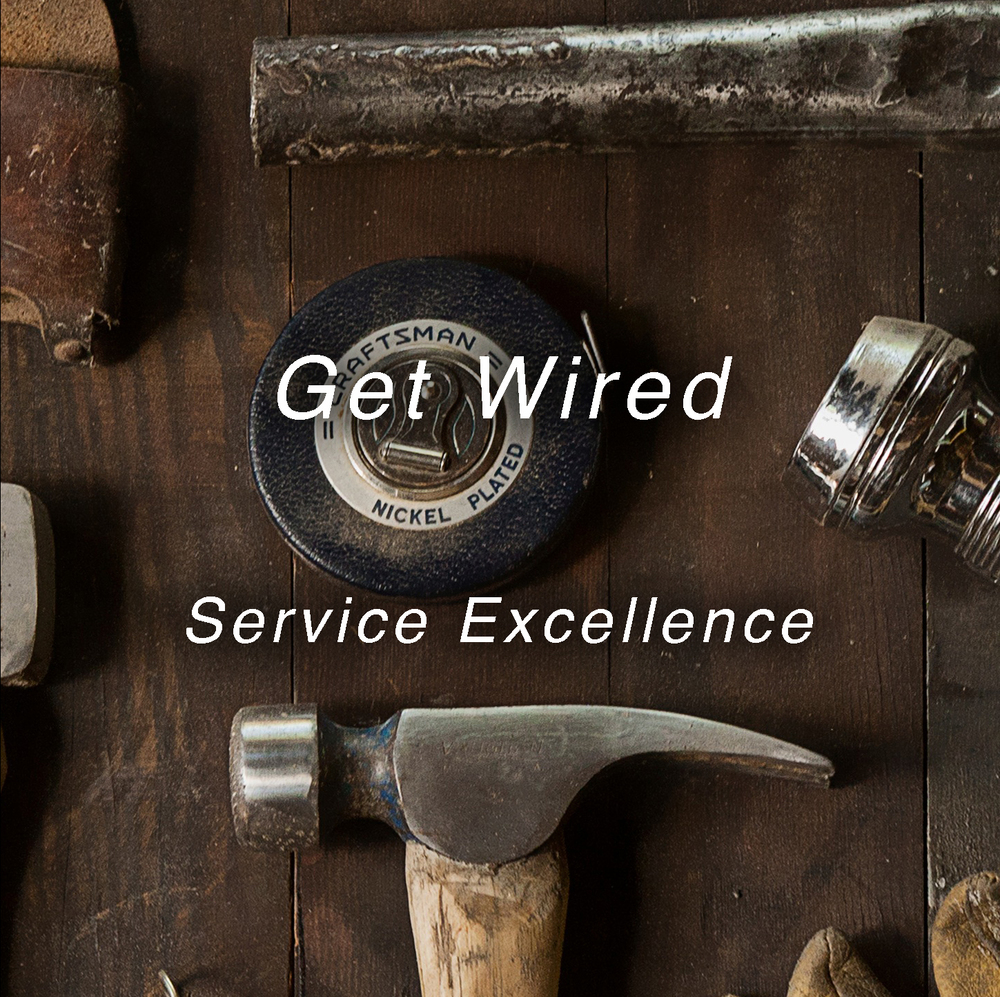 "The difference between poor and excellent service is the level of organizational ""hardwiring.""  Employees, at best, will only strive to meet minimal organizational expectations.  How well have you set clear, attainable expectations and has your team been ""wired"" to deliver a world class customer experience?"